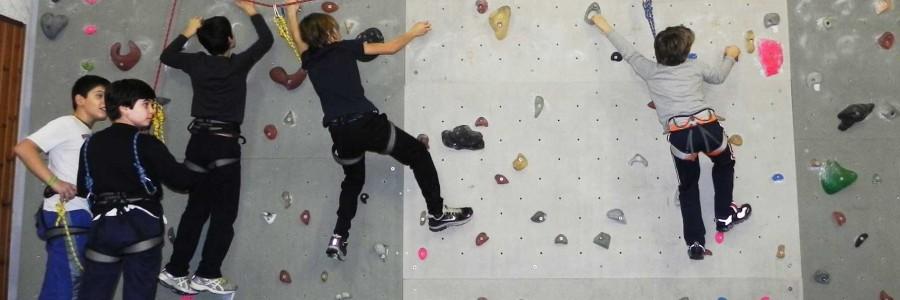Laboratorio d'arrampicata per ragazzi